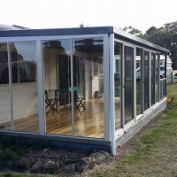 Pergola and Alfresco infill Supplied and Installed by WESTERN VICTORIA WINDOWS Ballarat. Sliding stacking doors and fixed windows. & 55430161c1a3c0f66d8b4567-200-200-C.jpg