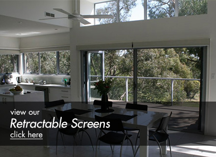View our Retractable Screens